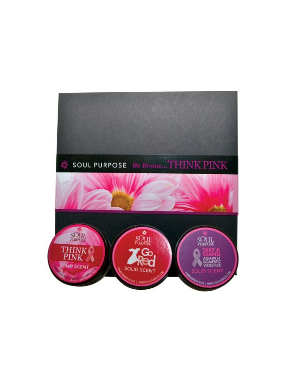 Be Brave.... Think Pink Gift Set